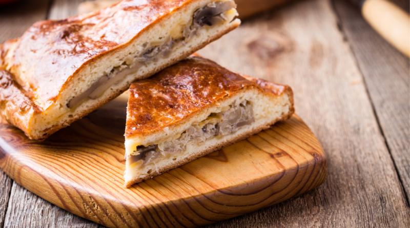 Пирог со свининой по-европейски