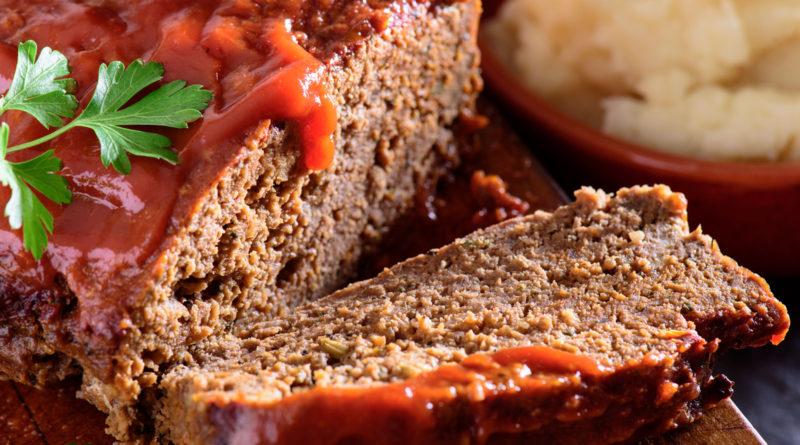 Мясной хлеб со свеклой