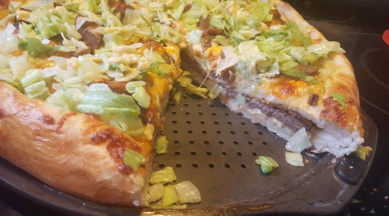 Пицца «Двойной чизбургер»