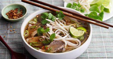 Национальный вьетнамский суп Фо-Бо
