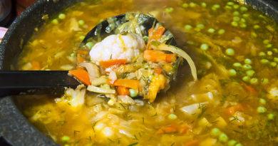 Бринчоба - таджикский овощной суп
