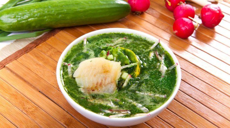 Ботвинья - Холодный летний русский суп
