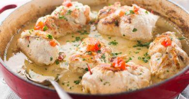 Бобо - Латиноамериканское блюдо из курицы