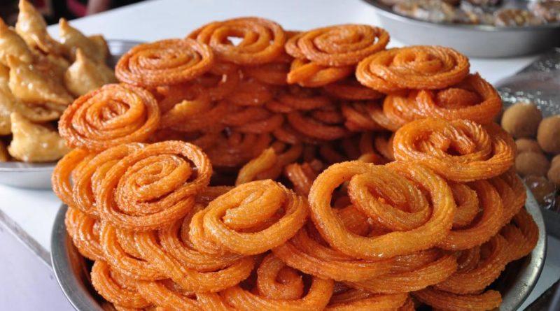 Индийское печенье джалеби