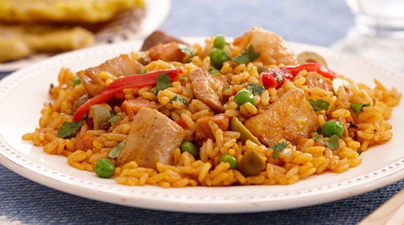 Аррос кон пойо - Испанское блюдо из риса