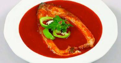Халасле - Традиционный венгерский рыбный суп