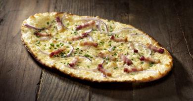 Фламмкухен - Блюдо немецкой и французской кухонь