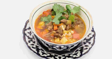 Атала - Узбекский суп