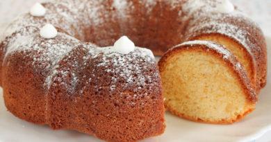 Фунтовый кекс (паундкейк) -Традиционная английская выпечка