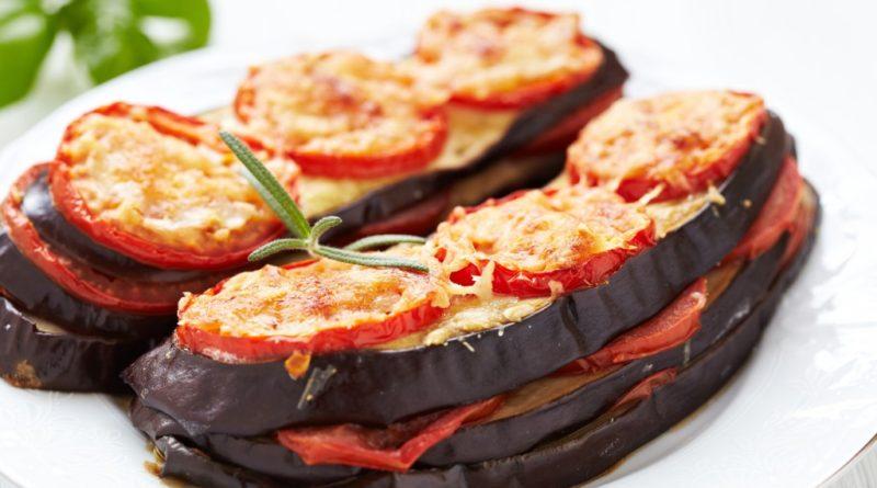 Баклажаны, запечённые с сыром по-итальянски