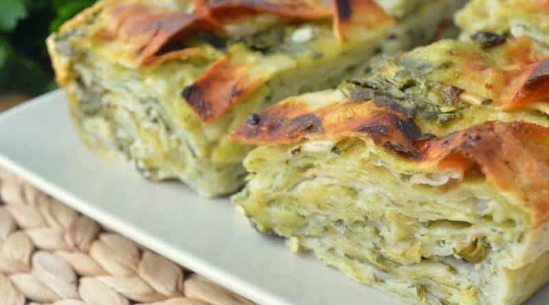 Ачма - Грузинский пирог с сыром