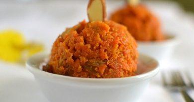 Индийская халава из моркови