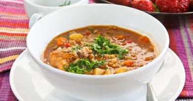 Машхурда - узбекский суп