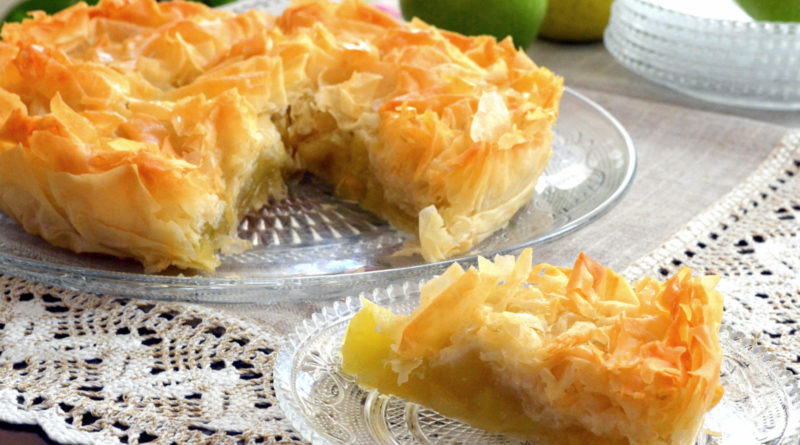 Крустада - французский яблочный пирог