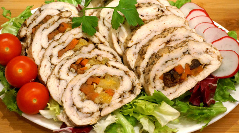 Крутелики - рулеты из мяса по-славянски