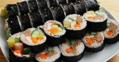 Кимбап (кимпап) - роллы по-корейски