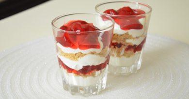 Парфе - американский холодный десерт