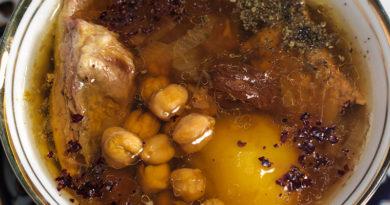 Парча-бозбаш — суп из баранины по-азербайджански
