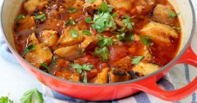 Паппа аль помодоро - Итальянский густой томатный суп с хлебом