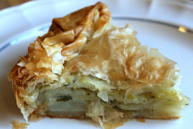 Пататопита - Греческий картофельный пирог