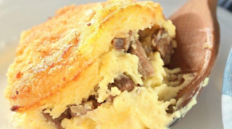 Пармантье Суп-пюре и запеканка из картофеля с мясным фаршем во французской кухне