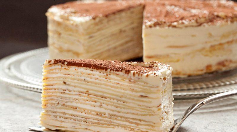 Крепвилль - Французский блинчатый торт