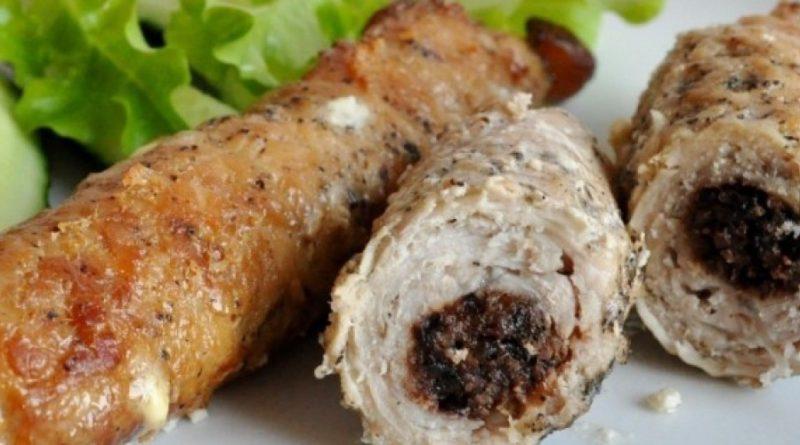 Крученики из свинины по-украински