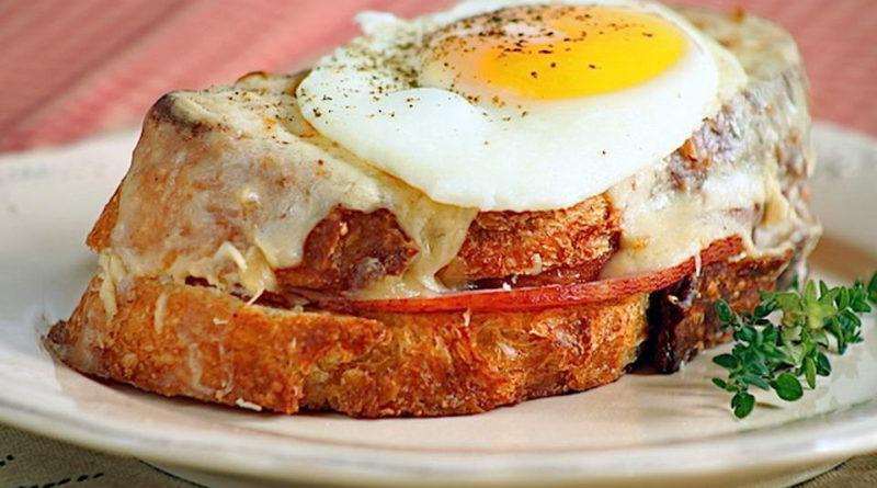 Крок мадам - французский сэндвич