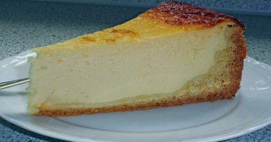 Кезекухен - Немецкий творожный пирог