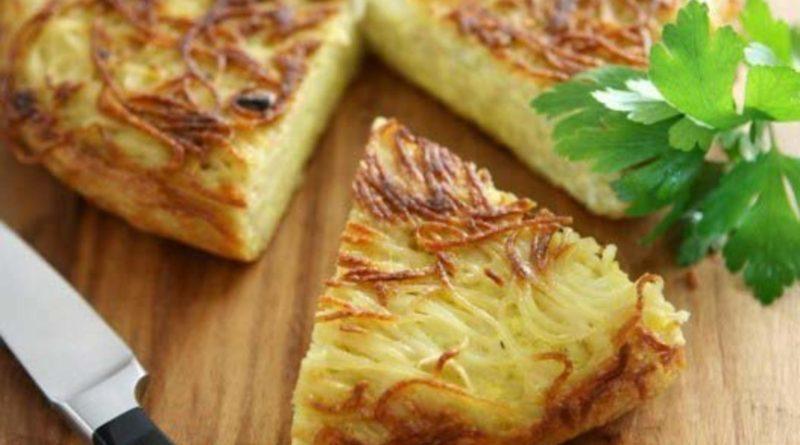 Пататник - Болгарский картофельный пирог