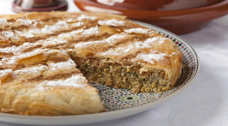Пастилла (пастилья) - Марокканский пирог из слоёного теста с мясной начинкой
