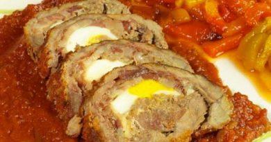 Фарсу магру - сицилийский мясной рулет