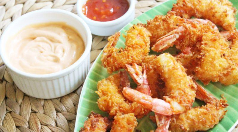 Креветки в панировке по-вьетнамски