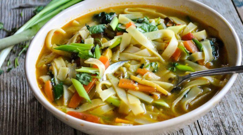 Тхукпа - Тибетский суп с лапшой и овощами
