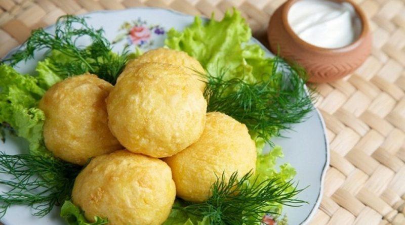 Урс - шарики из каши по-молдавски