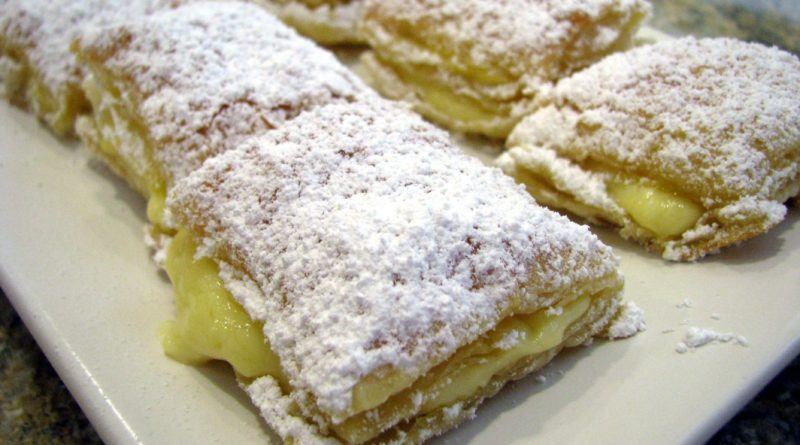 Мигелитос - Испанское слоёное пирожное