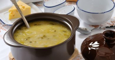 Умач - Азербайджанский суп из муки