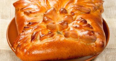 Кулебяка - Старинный русский пирог
