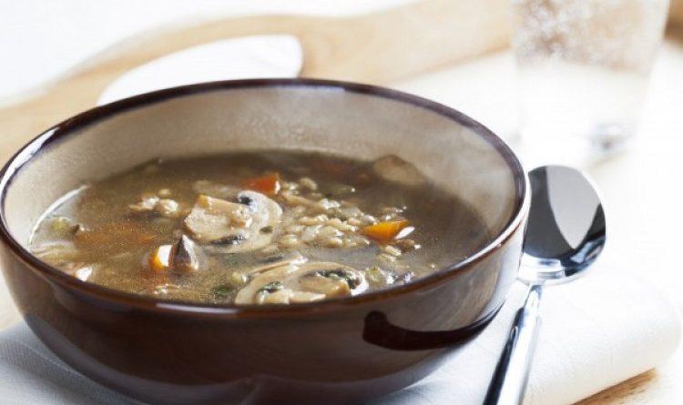 Ушник - постный грибной суп по-русски