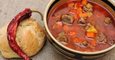 Петеш - Венгерский мясной суп