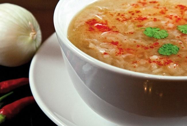 Пиева - луковый суп по-узбекски