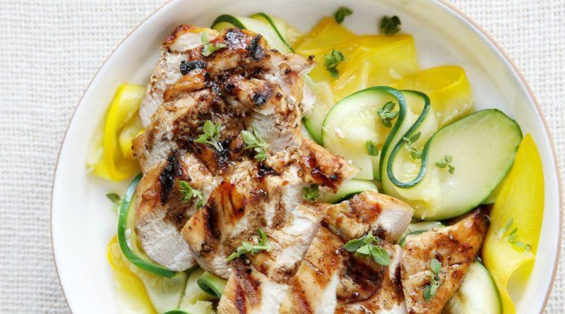 Пиза - куриная грудка с овощами по-итальянски