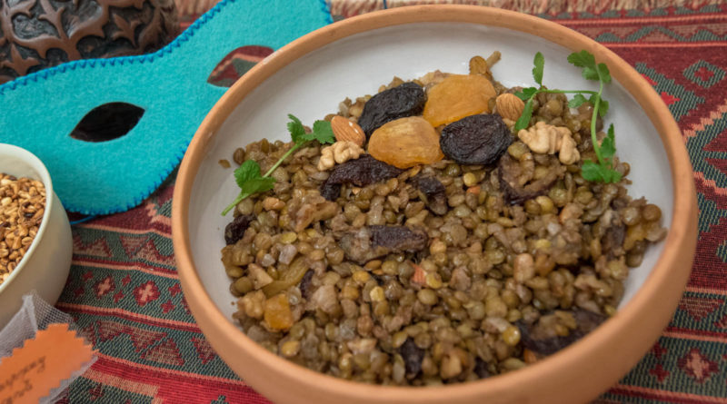 Мшош - Армянская паста из чечевицы