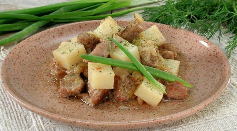 Мясо по-богемски из Чехии