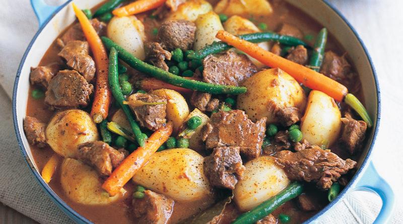 Наварен (наварин) - Французское рагу из мяса и овощей