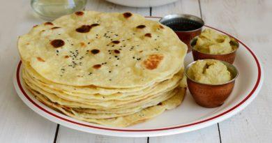 Наан - лепешка по-индийски