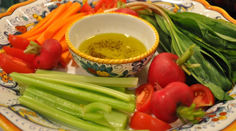 Пинцимонио - салат по-итальянски