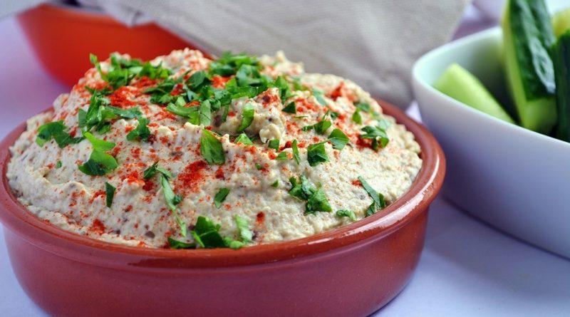 Мутабаль (мтабаль) - Арабская холодная закуска