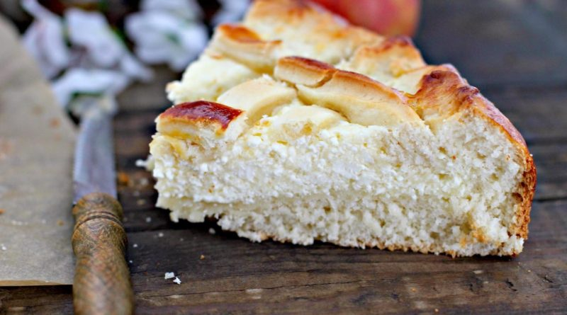 Наливашник - Открытый пирог из теста с начинкой