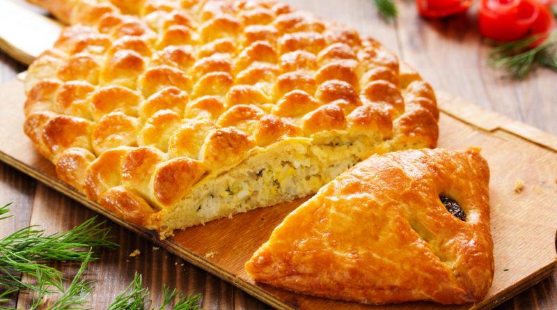 Рыбник - Русский пирог с начинкой из рыбы